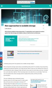object storage | Small World Big Data