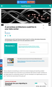 article_A-serverless-architecture-could-live-in-your-data-center