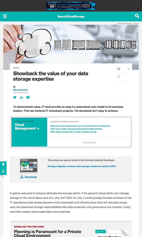 SearchCloudStorage | Small World Big Data